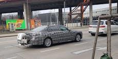 Rollt hier schon der neue 7er BMW durch Wien?
