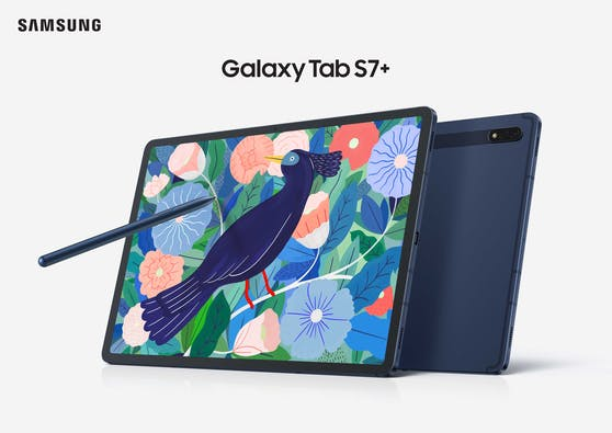 Samsung präsentiert Galaxy Tab S7/S7+ in Mystic Navy und Update One UI 3 bringt leistungsstarke neue Features.
