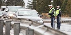 Polizei knallhart! 320 Anzeigen bei Kontrollen in Wien