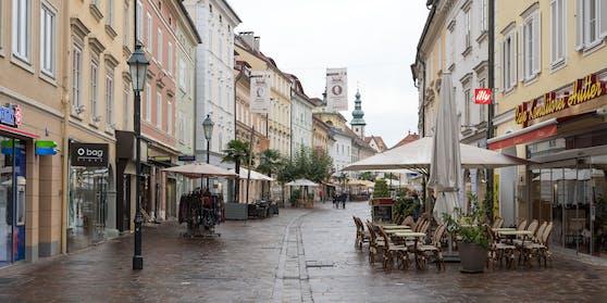 Die Klagenfurter Innenstadt (Symbolbild)
