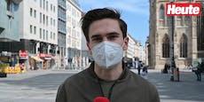 Video zeigt: Wiener pfeifen auf Maskenpflicht im Freien