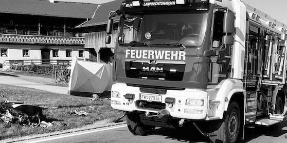 Am Mittwoch kam es im Gemeindegebiet von Lamprechtshausen (S) zu einem tödlichen Verkehrsunfall.