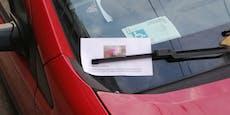Mann bietet sexuelle Dienste via Flugblatt auf Autos an