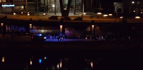 Am Mittwoch wurde am Donaukanal kontrolliert