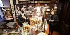 Schoko-Shop feiert Wiederauferstehung
