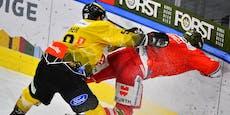 spusu Caps laufen in Halbfinal-Serie wieder hinterher