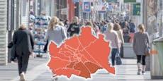 Drei Wiener Bezirke müssten jetzt abgeriegelt werden