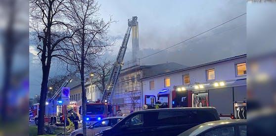 Der Feuerwehreinsatz in Wien-Liesing dauerte äußerst lang