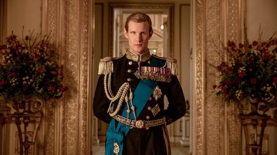 """""""The Crown""""-Star Matt Smith verkörperte Prinz Philip in zwei Staffeln und erhielt dafür 2018 eine Emmy-Nominierung."""