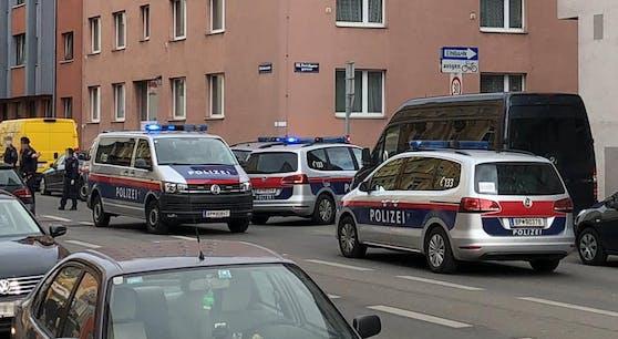 Die Polizei war vor Ort.