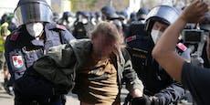 Festnahmen, Verletzte – die Bilanz der Chaos-Demo in Wien