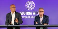 Das sagt Austria-Präsident Hensel zum Stöger-Aus
