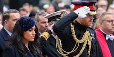 Meghan & Harry: So nehmen sie Abschied von Prinz Philip