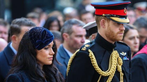 """Herzogin Meghan und Prinz Harry haben auf ihrer """"Archewell""""-Website und auf Social Media letzte Worte an Prinz Philip gerichtet."""