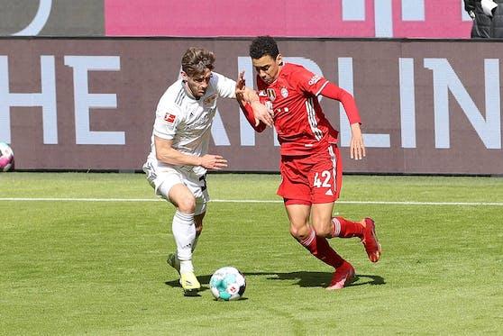 Jamal Musiala erlöst die Bayern.