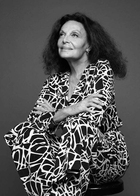 Die New Yorker Grande Dame der Mode: Diane von Fürstenberg.