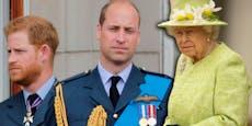 Queen will Harry und William gemeinsam beim Sarg sehen