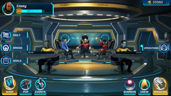 """""""Engage!"""" Das Spiel """"Star Trek: Legends"""" ist für Trekkies gemacht."""