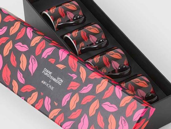 Für H&M entwarf Diane von Fürstenberg eine 31-teilige Home-Kollektion, die bunter nicht sein könnte.