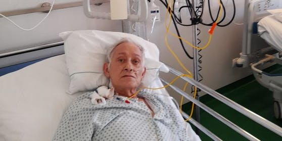 Gezeichnet: Chmelir im Krankenhaus