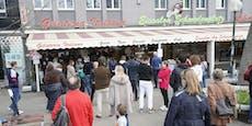 Vor der Kälte stürmen Wiener noch die Eis-Salons