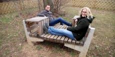 """Neue """"Ruh' Dich aus""""-Möbel im Hietzinger Hörndlwald"""