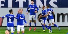 Schalke jubelt nach 12 sieglosen Spielen über Dreier