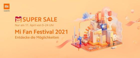Xiaomi feiert das Mi Fan Festival 2021.