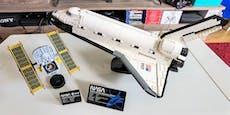 """Heute"" baut das LEGO NASA Discovery Space Shuttle"
