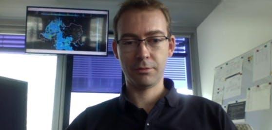 Ubimet-Meteorologe Steffen Dietz