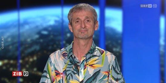 Der Umweltmediziner Hans-Peter Hutter war am Montag (12.04.2021) zu Gast in der ZIB2.
