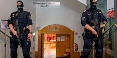 Dschihadisten-Prozess: Elite-Cops sichern Gericht