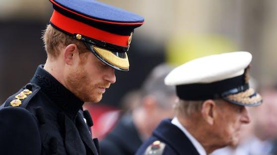 Prinz Harry liebte seinen Opa.