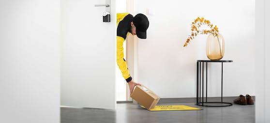 Durch die Vorzimmer-Zustellung können Pakete direkt zuhause abgestellt werden.