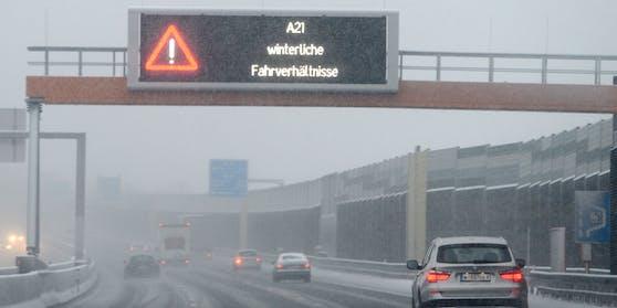Schnee könnte bis in die Wiener Außenbezirke fallen. (Archivfoto)