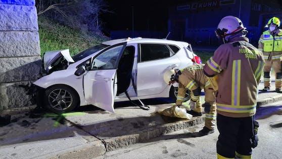 Schwerer Verkehrsunfall in Stans