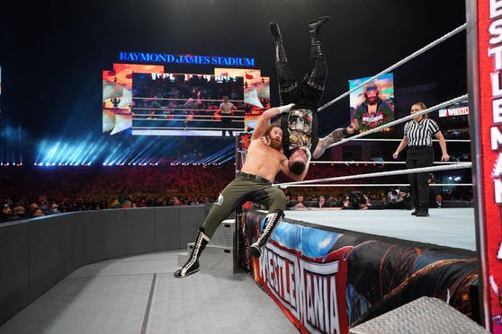 WWE Wrestlemania, Night 2: Die besten Fotos!