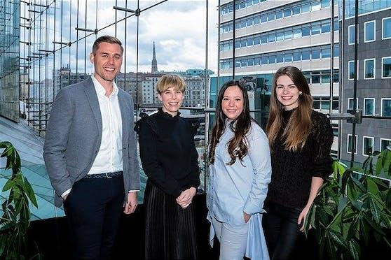 TheVentury und Raiffeisen Bank International zum Start des Accelerator-Programms.