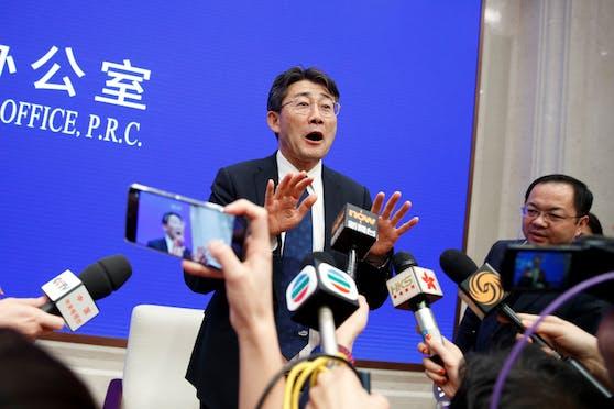 Gao Fu rudert zurück.