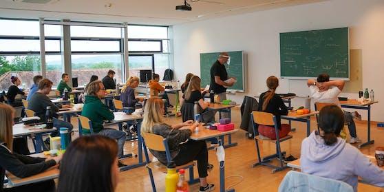 Blick in eine Matura-Klasse in Braunau am Inn (Archivfoto)