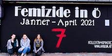 Gedenkstätte für Femizide in Wien errichtet