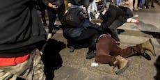 Proteste nach Tod von Schwarzem bei Polizeikontrolle