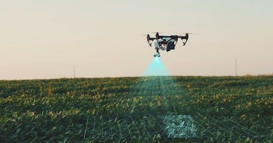 Drohnen und 5G unterstützen bei nachhaltiger Landwirtschaft.