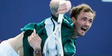 Tennis-Star Medwedew hat Corona – Turnier-Aus