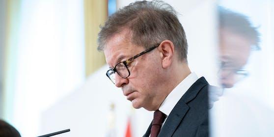 Ende einer grünen Ära: Gesundheitsminister Rudolf Anschober wirft aus gesundheitlichen Gründen hin.