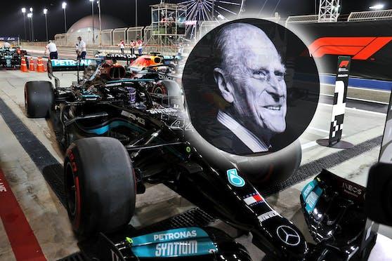 Auch die Formel 1 trauert um Prinz Philip.