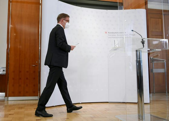 Rudolf Anschober gab am Dienstag seinen Rücktritt bekannt.