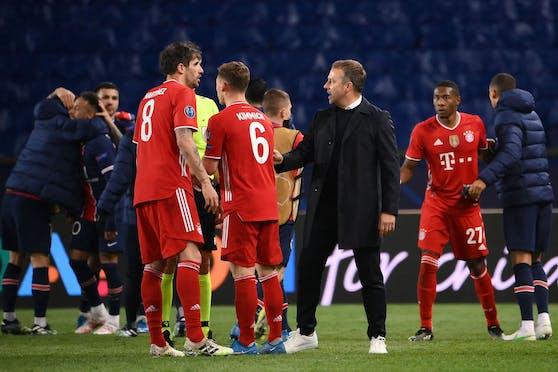 Die Bayern sind nach dem Viertelfinal-Aus enttäuscht.