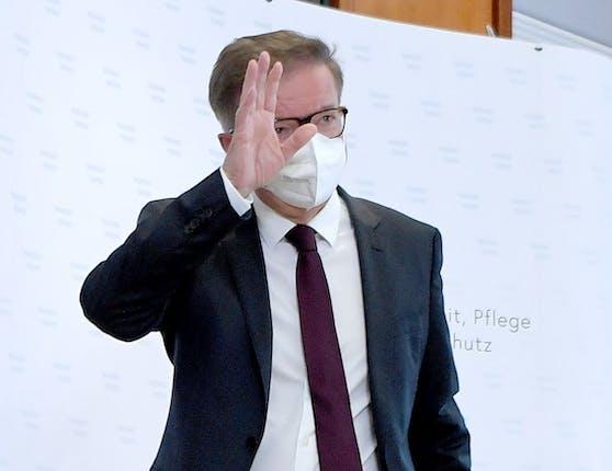 Rudolf Anschober verabschiedet sich.