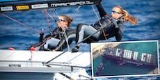 Unser bestes Olympia-Boot steckte im Suezkanal im Stau